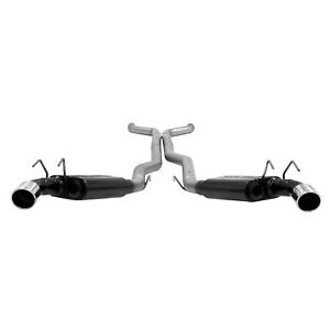 Flowmaster 10 13 Camaro Ss 6 2l V8 W o Ground Effects 3 Cat back Exhaust 817481