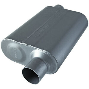 Flowmaster Super 44 Series Muffler 2 5 Offset In Offset Out Stainless 842548
