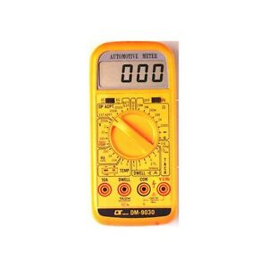 Lutron Automotive Meter Digital Multimeter Tachometer Dmm Tester Thermometer