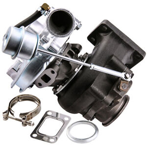Universal T3 t4 T04e Hybrid 63 Ar Turbo Charger Internal Wastegate Vband 300 hp