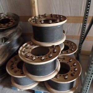 Takeoff Steel Wheel Military 2 Piece Bolt Together 20x10 Can Fit 2 5ton M35a2 A3
