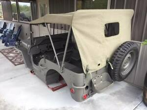 Mb Complete Master Body Kit Military Fits Jeep Willys Md Juan Steel Tub
