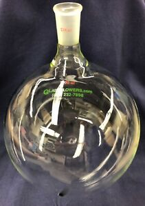 Brand New 24 40 5000ml 5 Liter Round Bottom Flask High Quality Heavy Wall Flask