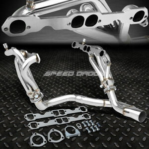 For 94 95 Camaro Firebird V8 5 7l Stainless Steel 8 2 1 Mid Length Header Y Pipe