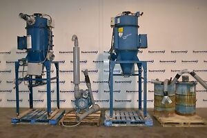 Donaldson Torit Td 162 Cyclone Dust Collectors W 20hp Ametek Blower