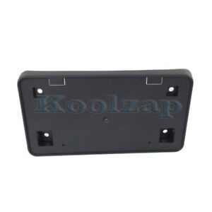 01 04 Town country Front License Plate Holder Bracket Black Ch1068119 4857350ab