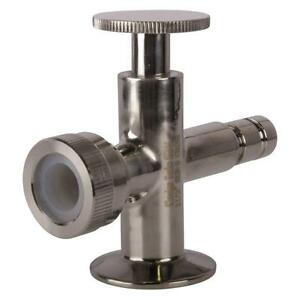 Sight Level Tri Clamp clover 1 5 1 1 2 Inch Valves Lower Sanitary 2 Pack