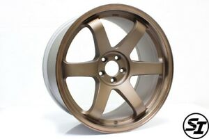Rota Grid Wheels 18x9 5 38 5x100 Speed Bronze Subaru Wrx 02 14 Scion Tc 05 10