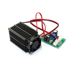 660nm 200mw Red Laser Module Industrial 12v With Ttl Modulation 12v 1a Adapter