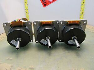 Lot Of 3x Japan Servo Fy8s15 x13a Dc24v 1500r min Motors 2 a 14 5