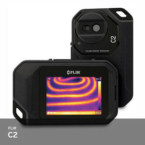 Flir C2 Infrared Ir Camera Compact Pocket Portable Thermal Imaging 10 To 150