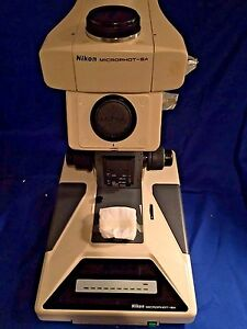 Nikon Microphot sa Research Grade Upright Microscope Stand Only