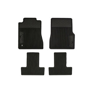 05 09 Ford Mustang All Weather Rubber Floor Mats Black Oem New 6r3z 6313300 a