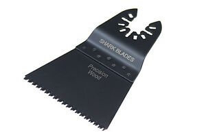 Shark Prescion Coarse Wood 65mm Oscillating Multi Tool Blades For Dewalt Makita