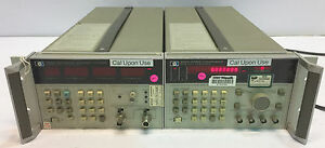 Agilent Hp 5343a Cw Microwave Frequency Counter 5344a Source Synchronizer