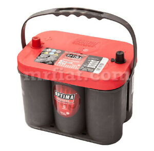 Ferrari Dino 206 246 Gt Gts Optima Red Top Battery 50 Ah New