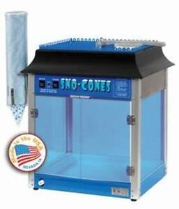 New Paragon 6133110 911 Storm Snow Sno Cone Machine Ice Shave Free Shipping