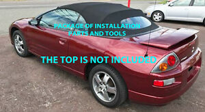 Mitsubishi Eclipse Spyder Convertible Top do It Yourself Pkg 2000 2005