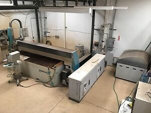 2013 Flow Mach 4 3020c Waterjet Cutting Cnc Ref 7791421