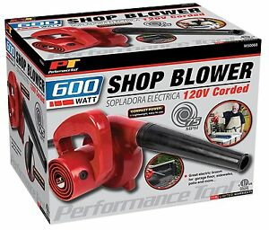 Mini Portable Air Blower Vacuum Leaf Compact Electric Handheld Dryer Garage