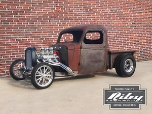 Bobber Hot Rod Truck Frame Rat Rod No Fenders 1935 46 Chevrolet Truck Cabs