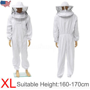 Beekeeper Sprotect Bee Keeping Suit Jacket Safty Veil Hat Body Equipment Hood Xl