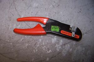 Thomas Betts Wt440 Ratchet Hand Crimp Tool Interchangeable Die Frame