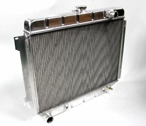 Die Formed Fit 68 73 Dodge Satellite Big Block 3 Rows Kks Aluminum Radiator