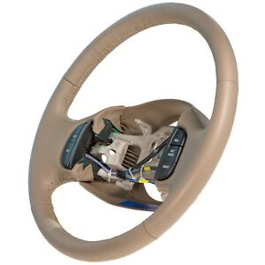 Oem New Steering Wheel W Cruise Control Leather 02 04 Excursion 2l3z 3600e aa