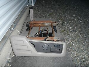 2008 2010 Ford Super Duty F250 F350 Power Seat Track W switch Passenger 08 09 10