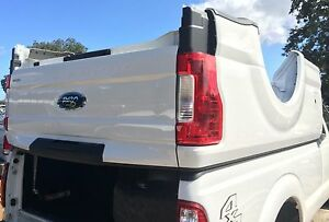 2017 2019 Ford Oem F250 F350 Aluminum 8ft Long Bed New Takeoff Tailgate Bumper