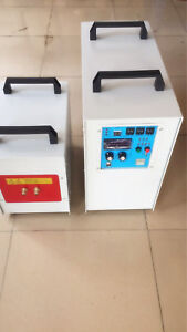 40kw 30 100khz High Frequency Induction Heater Furnace Zn 40ab
