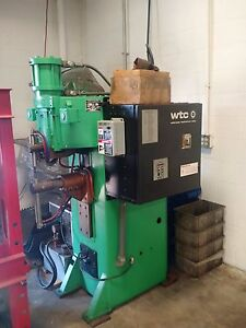 Precision Ava 1 100kva Spot Welder Air Operated Water Cooled Wtc Controls