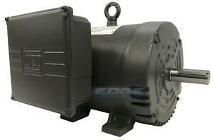 New Weg 7 5hp 184t Air Compressor Motor Replaces Leeson 132044 Baldor 753450