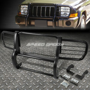 For 06 10 Jeep Commander Xk Suv Black Coated Mild Steel Front Bumper Grill Guard