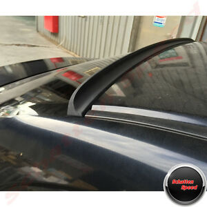 Unpainted Gs Style Rear Roof Lip Spoiler Wing For Honda Civic 2001 2005 Sedan