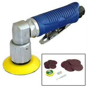 Mini Da Dual Action Orbital Air Sander Tool 50mm 70mm Sanding Pads 10 Discs