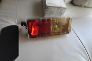 Tomar Rect 37 Strobe Wp Warning Lights Amber And Red