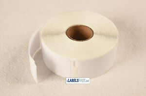 30336 Labels Rectangular White Multipurpose Dymo Compatible 15 Rolls