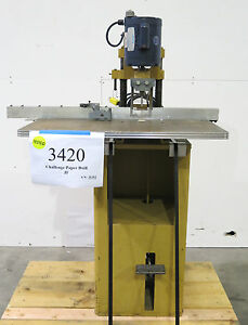 1972 Challenge Model Jf Single spindle Paper Drill
