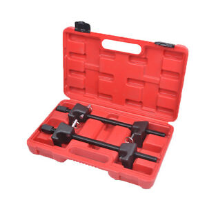 Coil Spring Compressor Set Shock Absorber For Macpherson Strut Replacement Clamp
