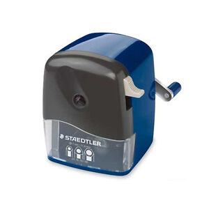 Staedtler Mars Rotary Pencil Sharpener With Cone Blue 501 180
