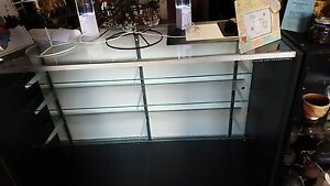 3 Glass Display Cases With Corner Units Bought Brand New Used 9 Months