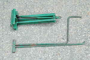 Jensen Healey Factory Jack And Handle Spare Tire Car Tool
