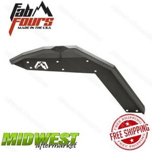 Fab Fours Set Of 2 Front Fender Flare Body Armor Fits 2007 2017 Jeep Wrangler Jk