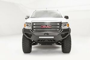 Fab Fours Half Ton Vengeance Base Front Bumper Fits 2015 2017 Gmc Canyon