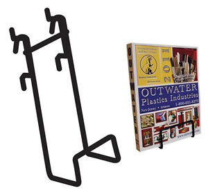 Slatwall Gridwall Pegboard Dvd Books Wire Display W Lip Lot Of 50 Black New