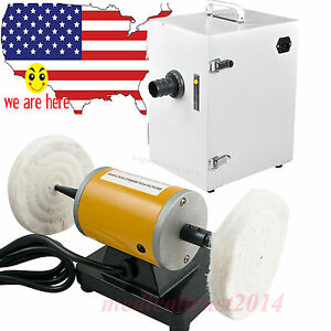 Dental Lab Mini Lather Polishing Motor digital Vacuum Cleaner Dust Collector