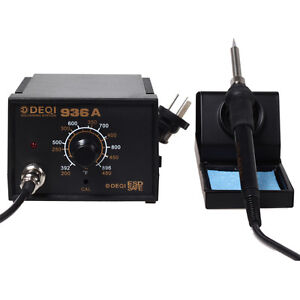 Smd Rework Iron Soldering Station Solder Iron W Iron Stand 936a