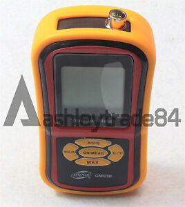 Gm63b Portable Digital Vibration Analyzer Vibrometer Temperature Tester New
